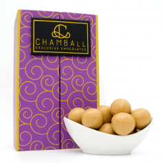 Chamball Whiscream - chocolate blanco relleno de crema de whisky